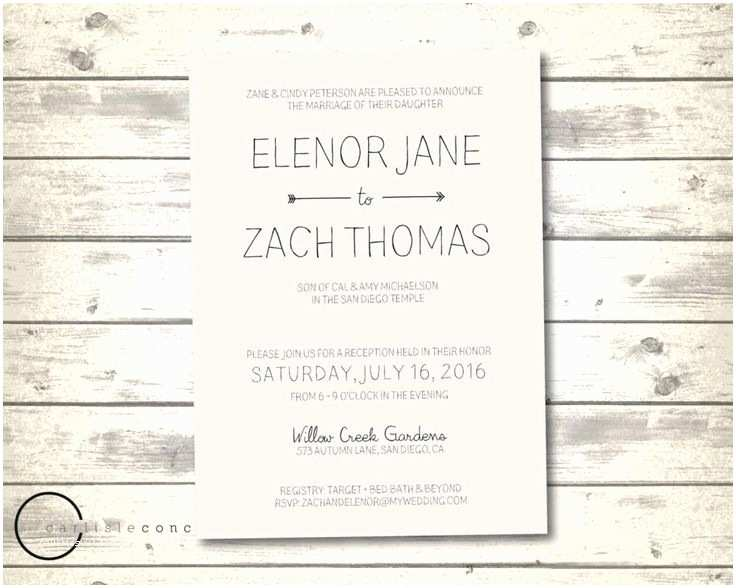 Casual Wedding Invitation Wording 17 Best Ideas About Casual Wedding Invitation Wording On