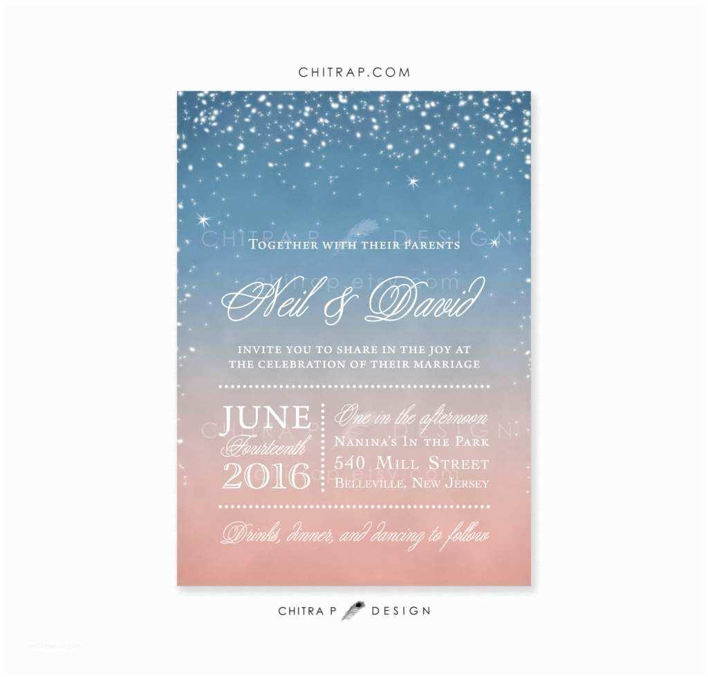 Casual Wedding Invitation Wording Informal Wedding Invitation Wording Couple Hosting