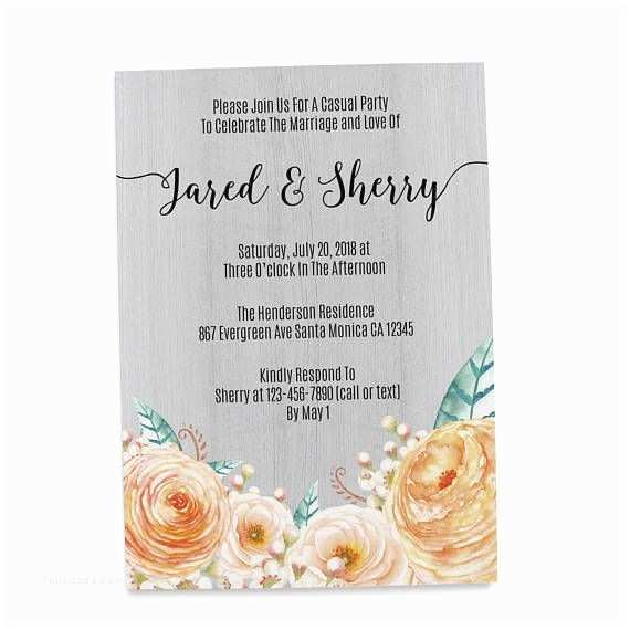 Casual Wedding Reception Invitations 166 Best Elopement Ideas Images On Pinterest