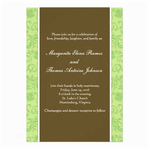Casual Wedding Reception Invitations Casual Wedding Invitation