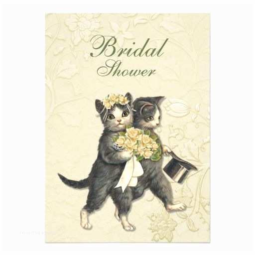 cat lovers wedding invitations