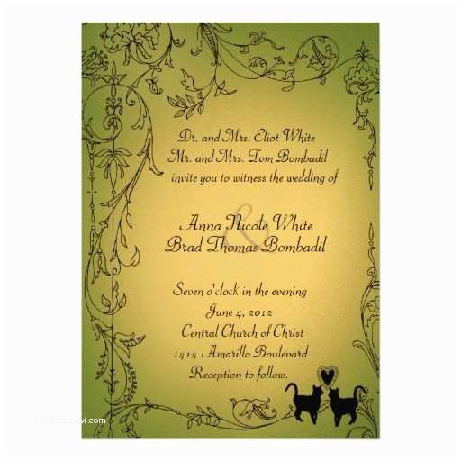 Cat Wedding Invitations Cat Lovers Wedding theme 10 Handpicked Ideas to Discover