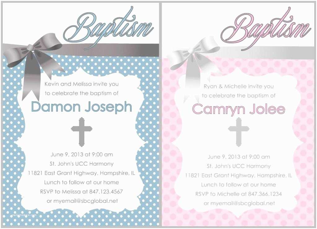 Catholic Baptism Invitations Baptism Invitation Free Baptism Invitations to Print