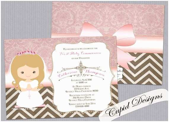 Catholic First Communion Invitations 13 Best First Munion Images On Pinterest