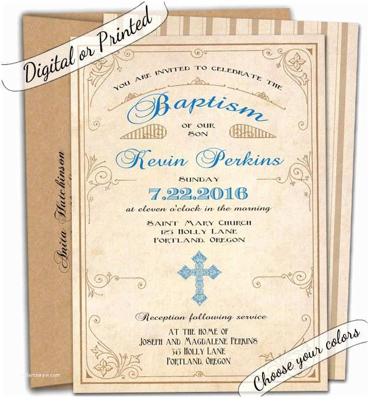 Catholic First Communion Invitations First Munion Invitation Baptism Invitation Christening