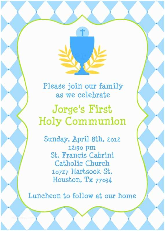 picture about Printable First Communion Invitations named Catholic Very first Communion Invites Absolutely free Printable To start with