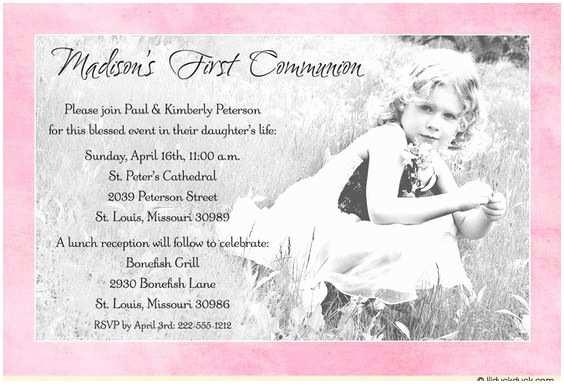 Catholic First Communion Invitations Pinterest • the World's Catalog Of Ideas