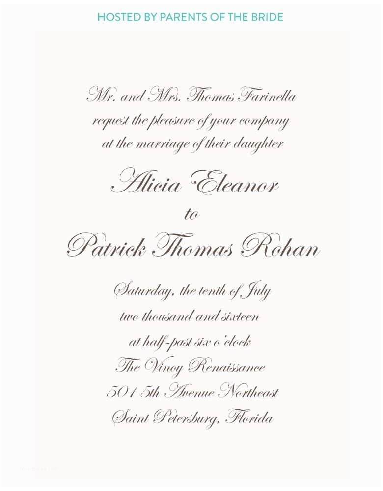 Catholic Wedding Invitation Wording Church Wedding Invitation Wording