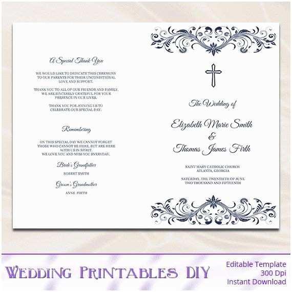 Catholic Wedding Invitation Wording Sacrament Best 25 Wedding Program Templates Ideas On Pinterest