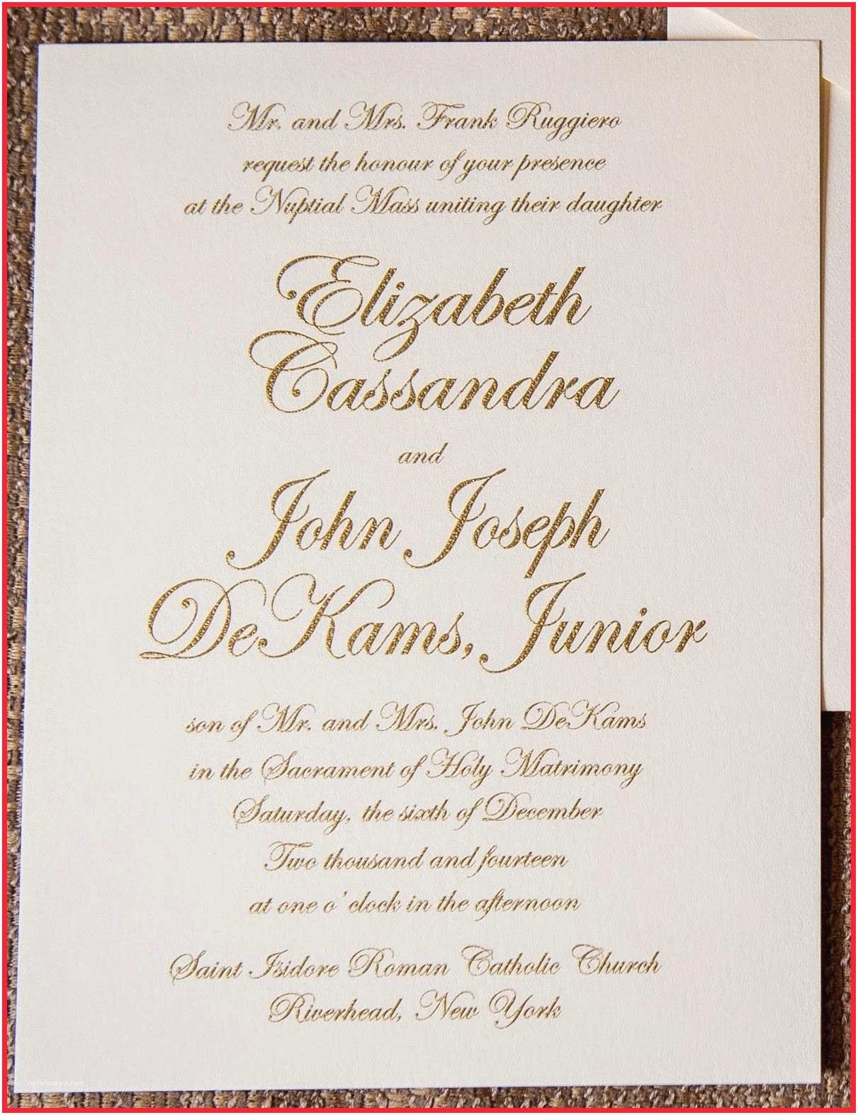 Catholic Wedding Invitation Wording Sacrament Catholic Wedding Invitations Indian Catholic Wedding