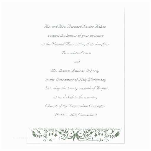 Catholic Wedding Invitations Catholic Wedding Set Invitation Template Cc