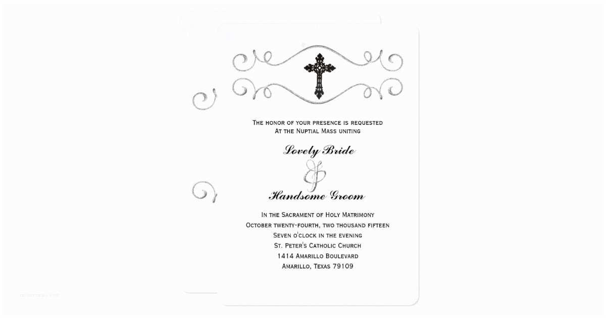 Catholic Wedding S Elegant Celtic Cross Catholic Wedding