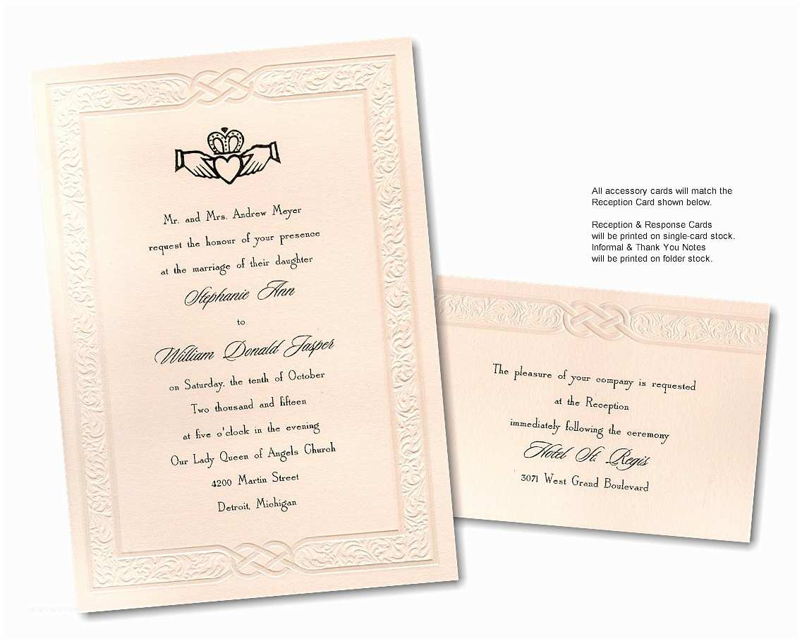 celtic invitation