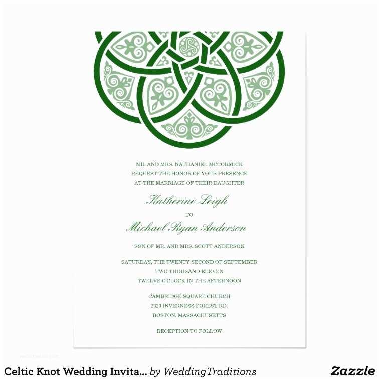 Celtic Wedding Invitations Celtic Knot Wedding Invitations