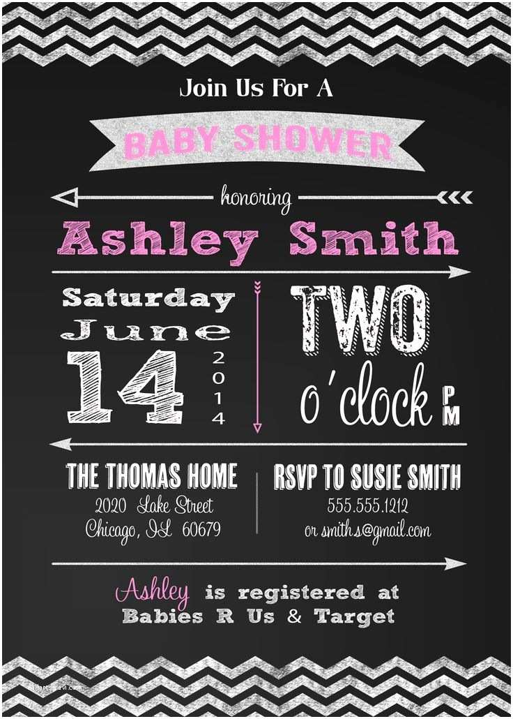 Chalkboard Baby Shower Invitations 82 Best Images About Baby Shower Invitations On