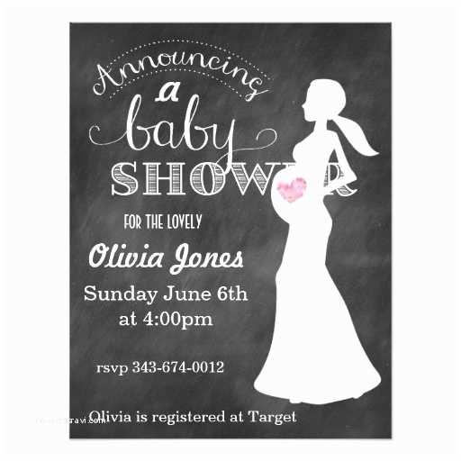 Chalkboard Baby Shower Invitations Chalkboard Baby Shower Invitation