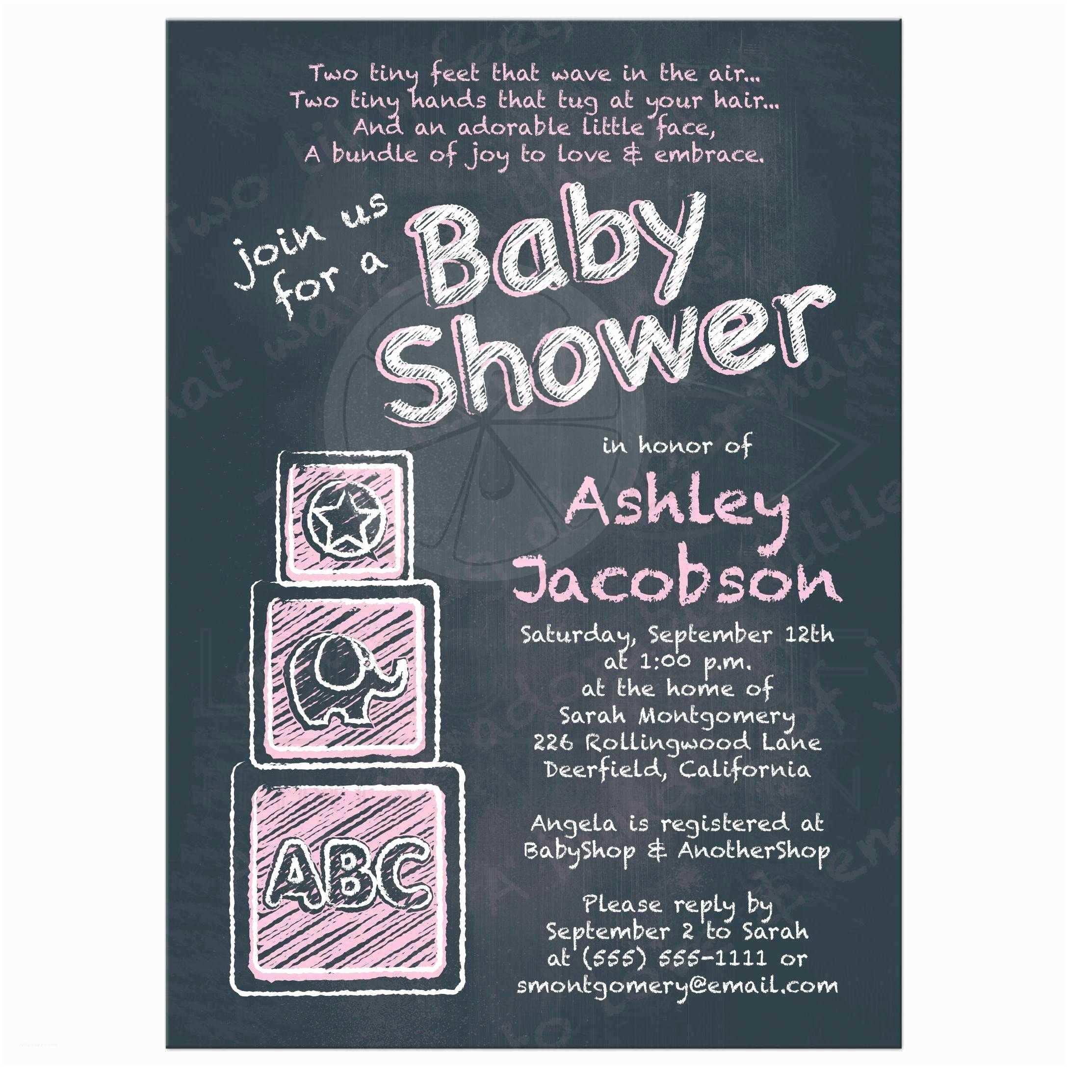 Chalkboard Baby Shower S Chalkboard Baby Shower