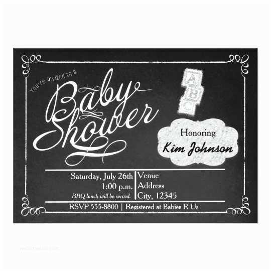 Chalkboard Baby Shower S Vintage Chalk Baby Shower Chalkboard