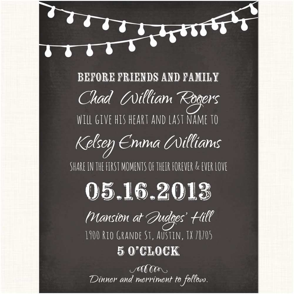 Chalkboard Wedding Invitations 9 Best Of Wedding Menu Card Templates Blank
