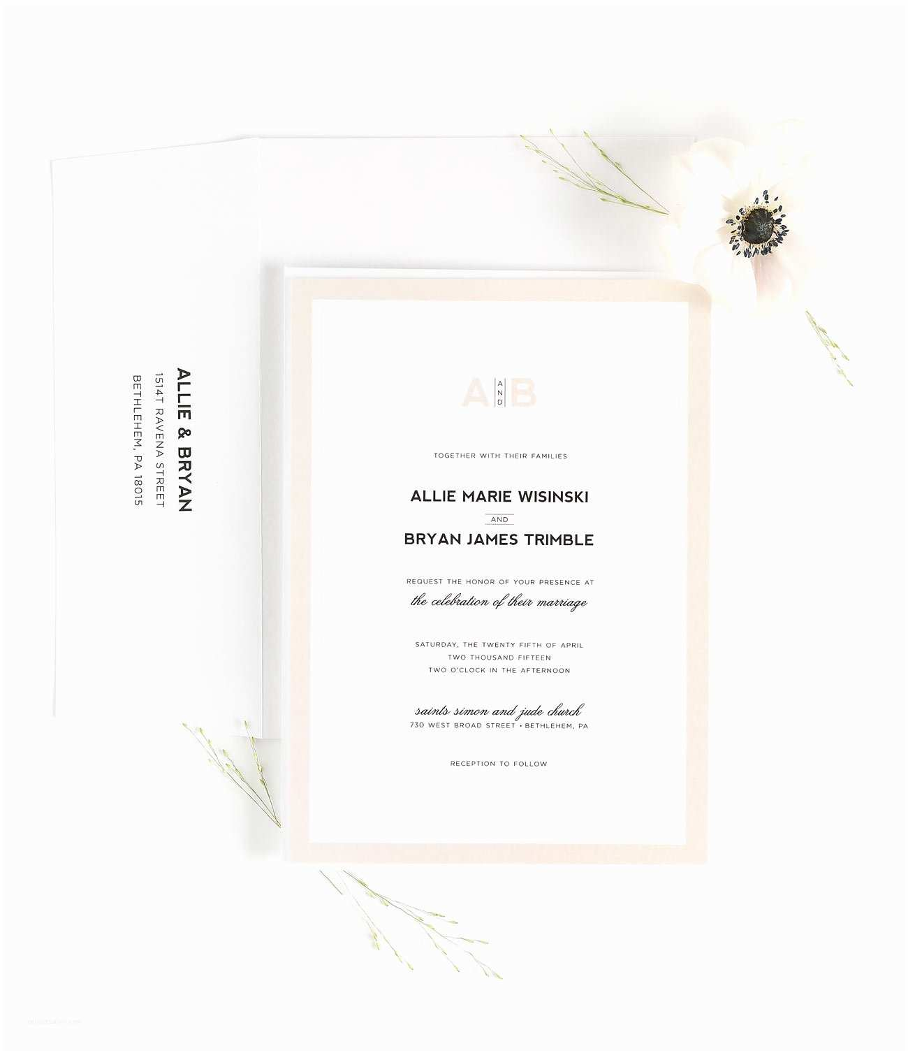 Champagne Wedding Invitations Champagne Border Wedding Invitations – Wedding Invitations