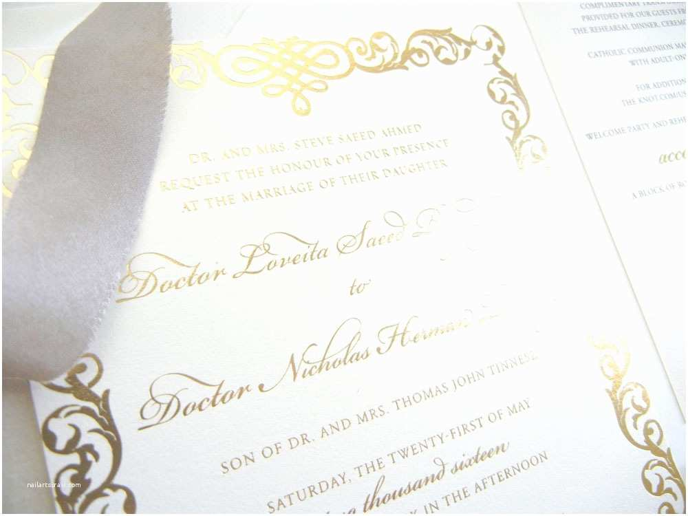 Champagne Wedding Invitations Wedding Invitations