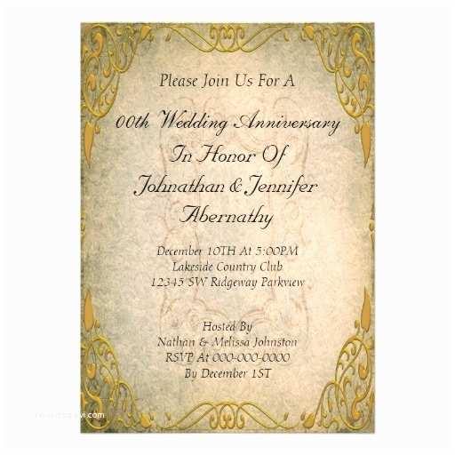 Cheap 50th Wedding Anniversary Invitations 17 Best Golden Wedding Anniversary Invitations Images On