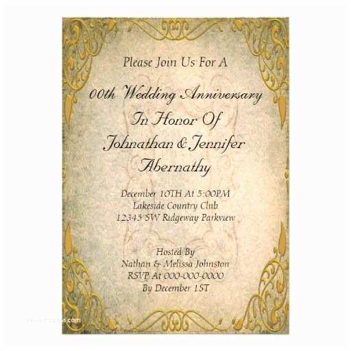 Cheap 50th Wedding Anniversary Invitations 50th Wedding Anniversary Invitation