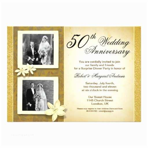 Cheap 50th Wedding Anniversary Invitations Two S Wedding Anniversary Invitation Card