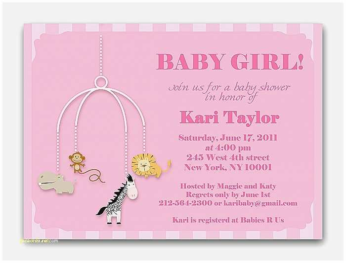 Cheap Baby Shower Invitations for Girl Baby Shower Invitation Fresh Free Monkey Baby Shower