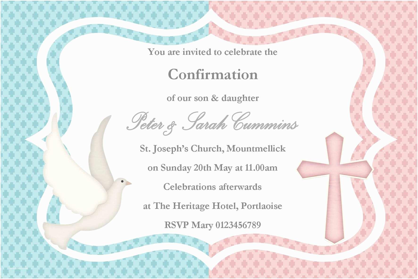Cheap Baptism Invitations Twin Baptism Invitations – Gangcraft