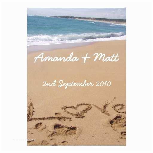 Cheap Beach Wedding Invitations Beach Wedding Invitations 13 Cm X 18 Cm Invitation Card