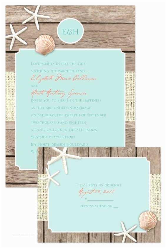 44 Cheap Beach Wedding Invitations Nailartssravi