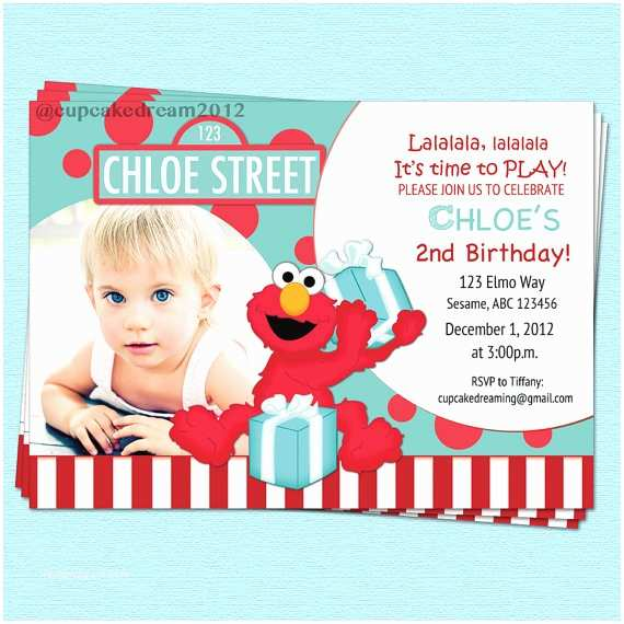 Cheap Birthday Invitations Fine Elmo Birthday Invitations Template According Cheap