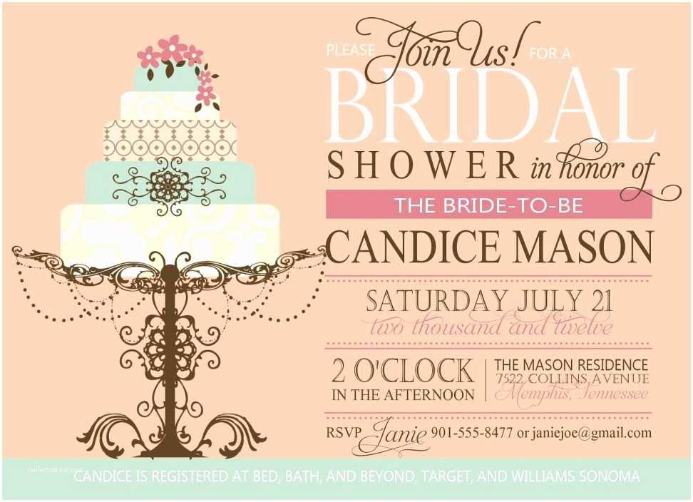 Cheap Bridal Shower Invitations Bridal Shower Invitation Templates Cheap Bridal Shower