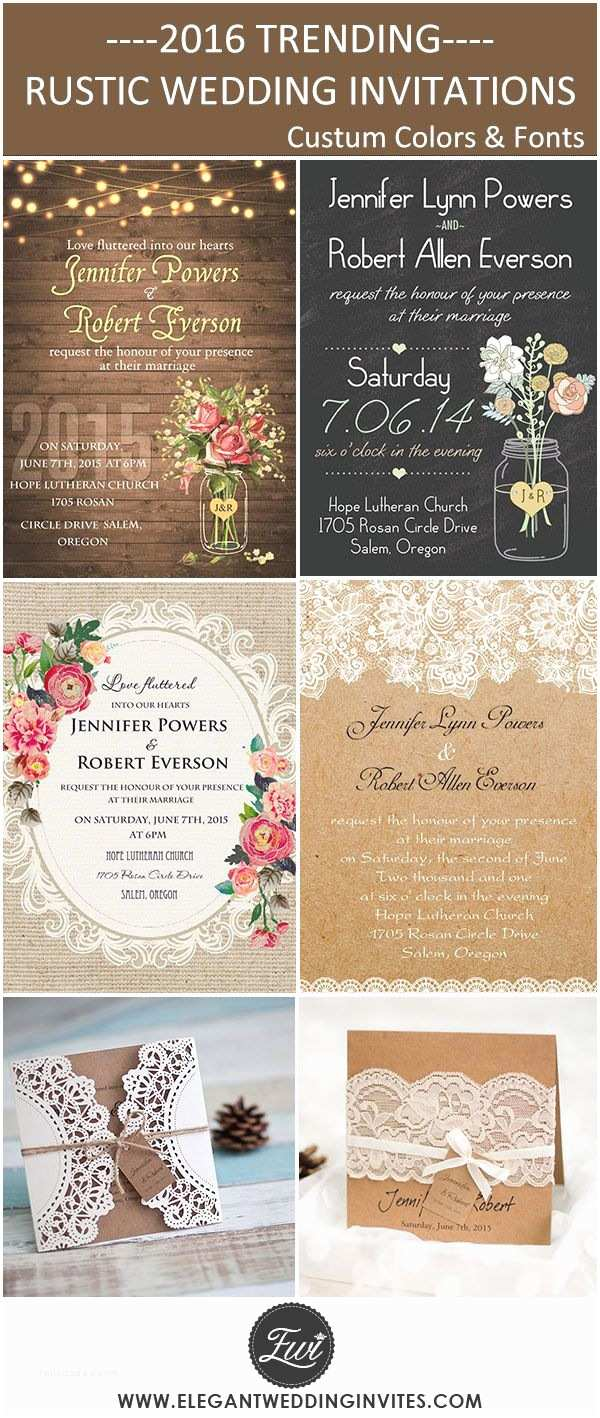 Cheap Country Wedding Invitations Cheap and Rustic Wedding Invitations as Low as $0 94
