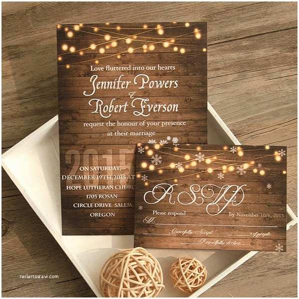 111 rustic wedding invitations cheap