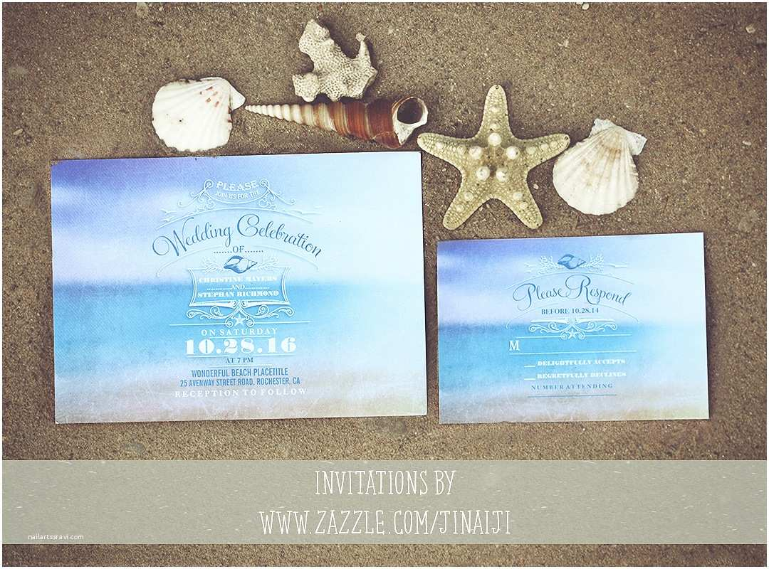 Cheap Destination Wedding Invitations Beach Wedding Invitations – Need Wedding Idea