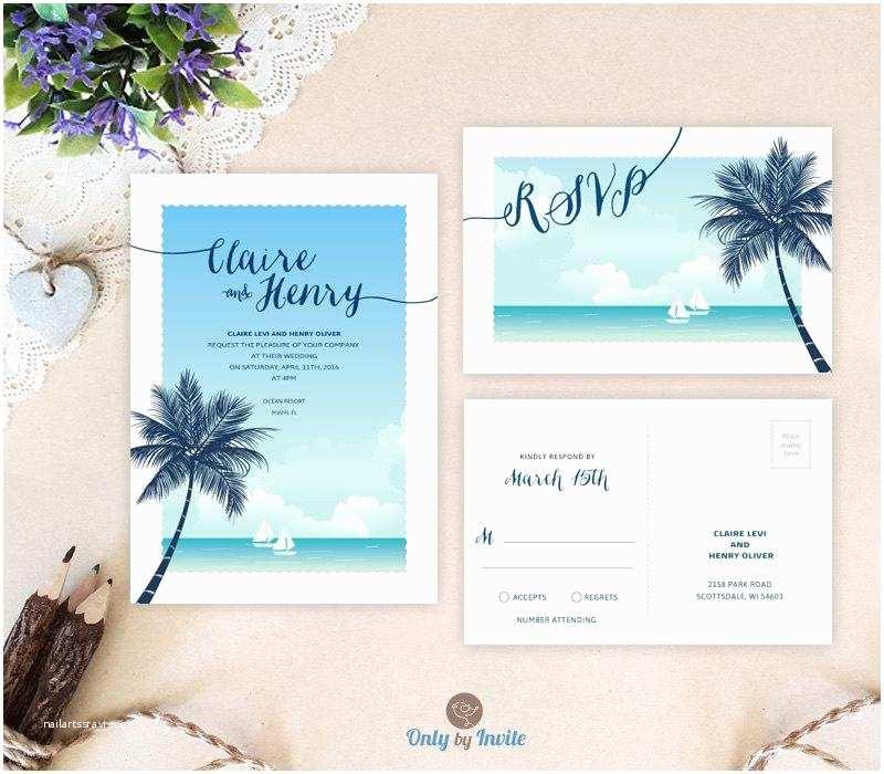 Cheap Destination Wedding Invitations Destination Wedding Invitations with Rsvp Printed