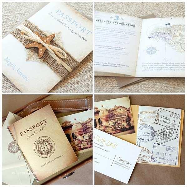 Cheap Destination Wedding Invitations Passport Destination Wedding Invitations