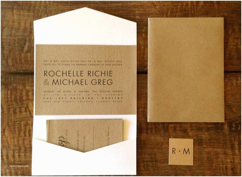 Cheap Diy Wedding Invitations Cheap 1pcs Sample Diy White Pocket Fold Wedding