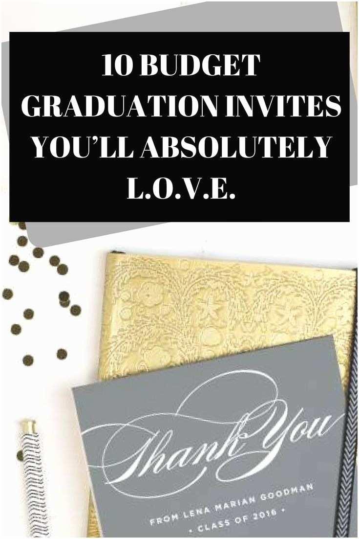 Cheap Graduation Invitations 25 Unique Cheap Graduation Announcements Ideas On
