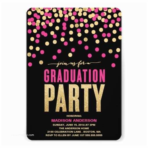 Cheap Graduation Party Invitations 25 Best Ideas About Pink Graduation Party On Pinterest