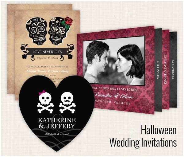 Cheap Halloween Wedding Invitations 17 Best Ideas About Halloween Themed Weddings On