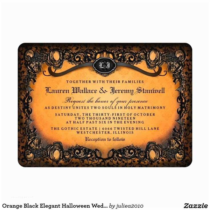 Cheap Halloween Wedding Invitations Best 25 Halloween Wedding Invitations Ideas On Pinterest