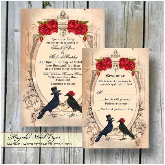 Cheap Halloween Wedding Invitations Best 25 Halloween Wedding Invitations Ideas On