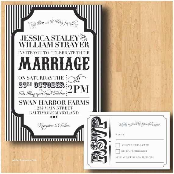 Cheap Halloween Wedding Invitations Carnival Halloween Wedding Invitation By