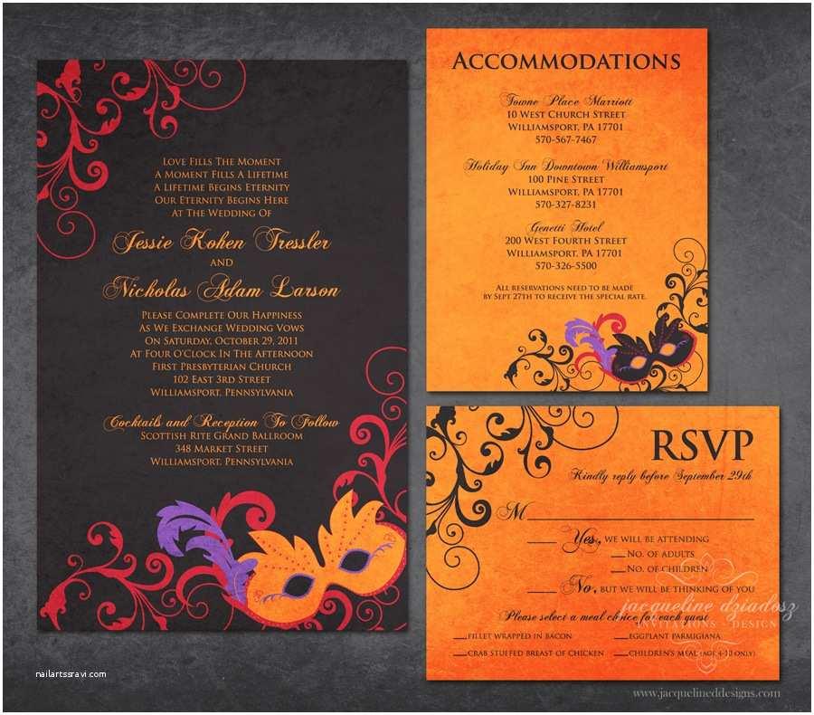 Cheap Halloween Wedding  Jessie & Nicholas Halloween Wedding