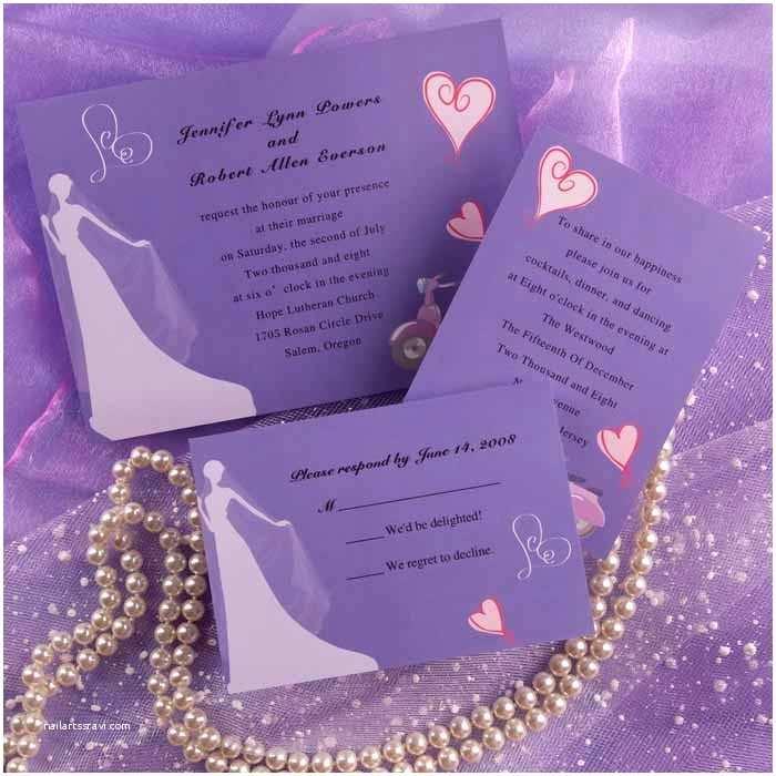 Cheap Halloween  Invitations Purple  Invitation Samples Purple