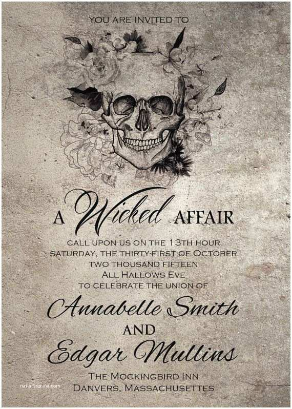 Cheap Halloween Wedding Invitations Spooktacular Halloween Wedding Invitations