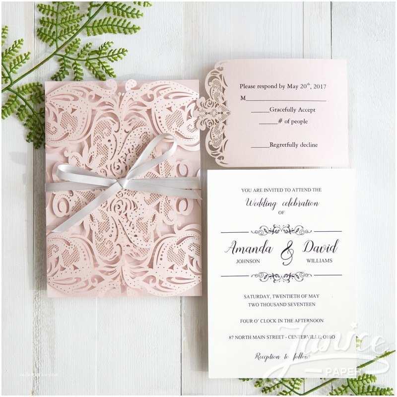 Cheap Laser Cut Wedding Invitations Gorgeous King Lasers wholesale Wedding Invitation Cards